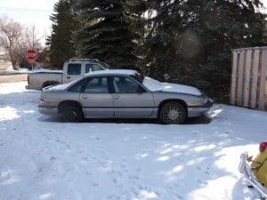 1991 buick regal gray beater car
