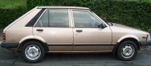 mazda 323, 1985 beater car