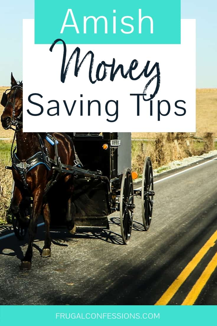 I love saving money, and am really interested to find the best money saving ideas out there. That's why this article on Amish money saving tips from a woman who grew up on a dairy farm in Amish Country is so fascinating to me! #savemoney #amish #amishliving