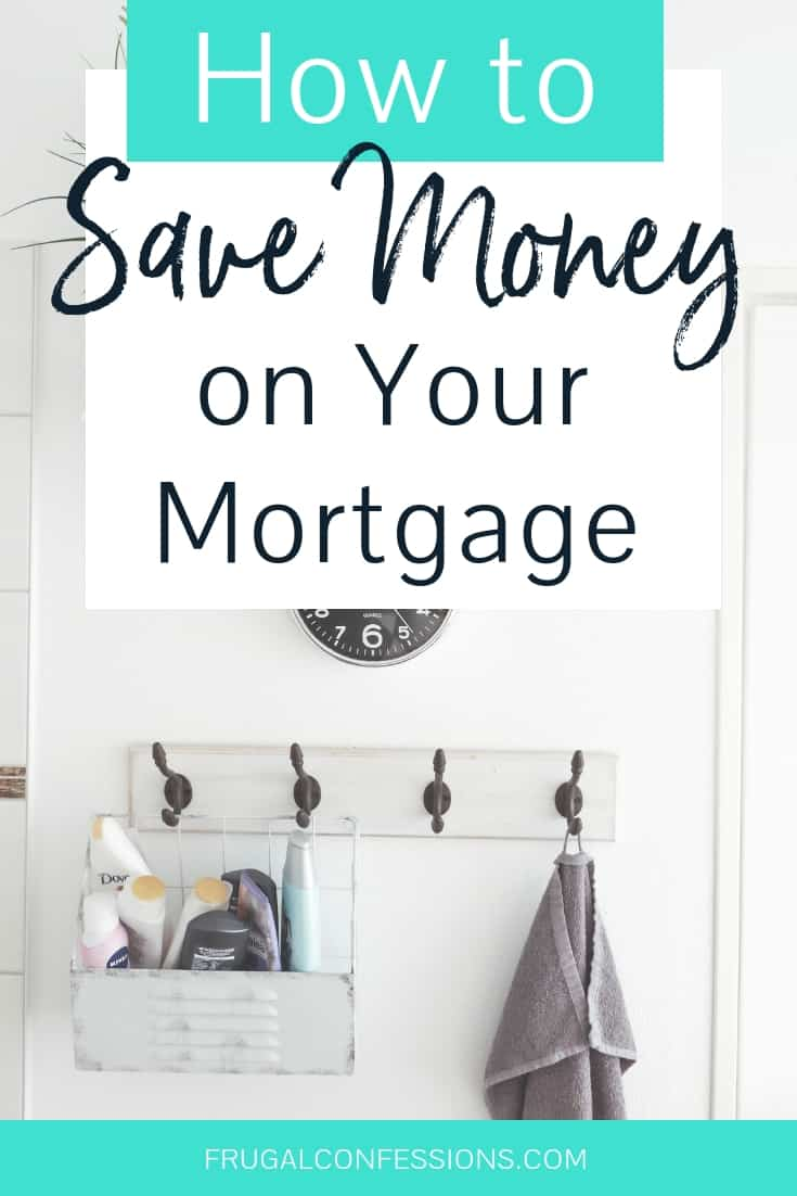 I need mortgage payoff tips – our mortgage is too expensive! If we can pay off mortgage early, then we'd have all that money each month to play with. I love how this woman shows you how to save money on your mortgage costs AFTER you close (and refinance mortgage tips are just one of her 4 strategies). #mortgage #payoffdebt