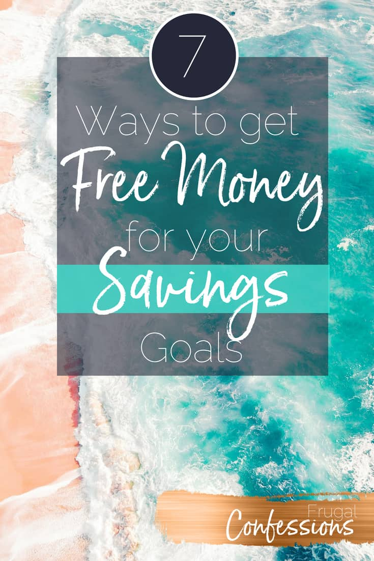 I had no idea there were savings match programs out there! What an awesome list of ways for me to get FREE MONEY to put towards my own savings goals! #howtoget #freemoney #howtogetfreemoney #hacks #tips #moneysavingtips #moneysavingtipsformom #easymoney | https://www.frugalconfessions.com/save-beyond-my-means/can-you-get-free-money-towards-your-savings-goals.php