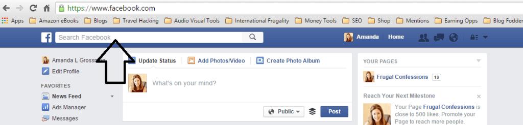 FB Search Bar Image