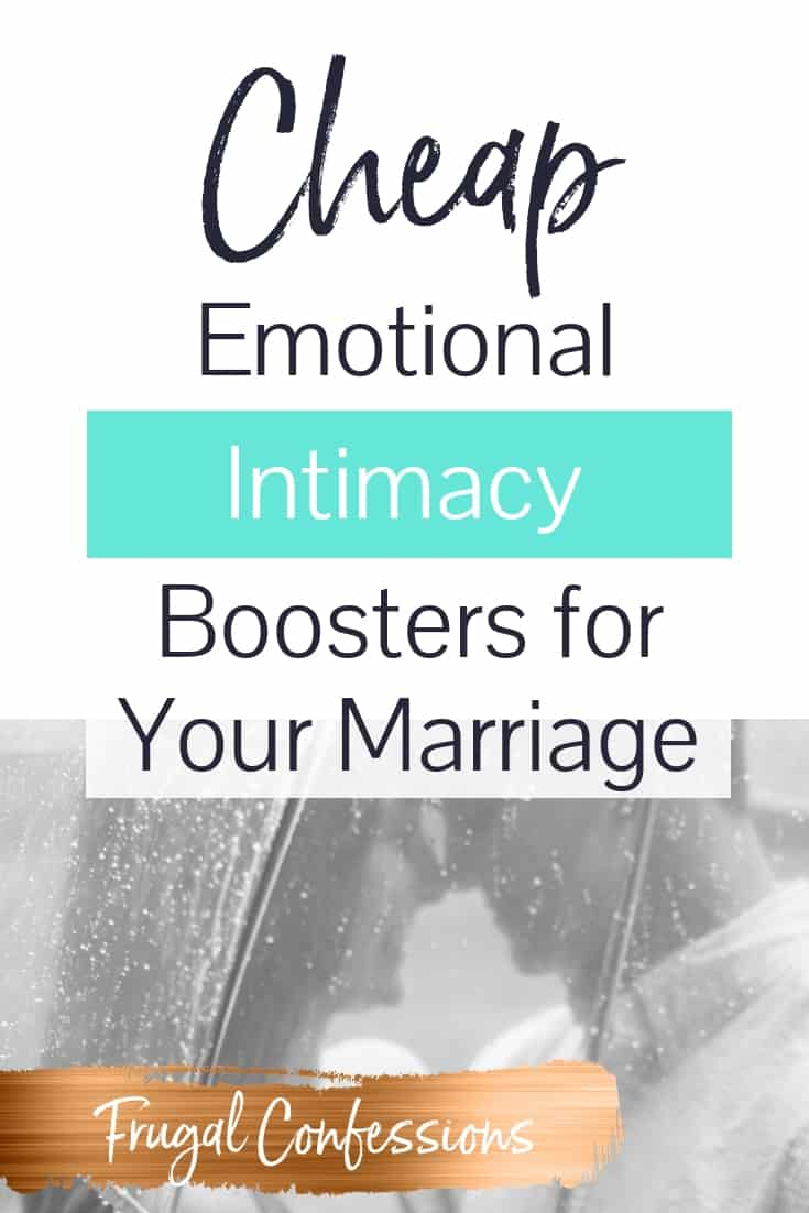 Emotional intimacy in marriage is soooo important, and it's something you need to keep adding to every day. You don't just build it up and then let it sit! I've read the 5 languages of love, and I want to find cheap ways to build up the emotional intimacy in my marriage even more. Sure beats ending up in couples therapy or marital counseling! Emotional needs relationships | relationships | #marriage #intimacy #relationshipgoals