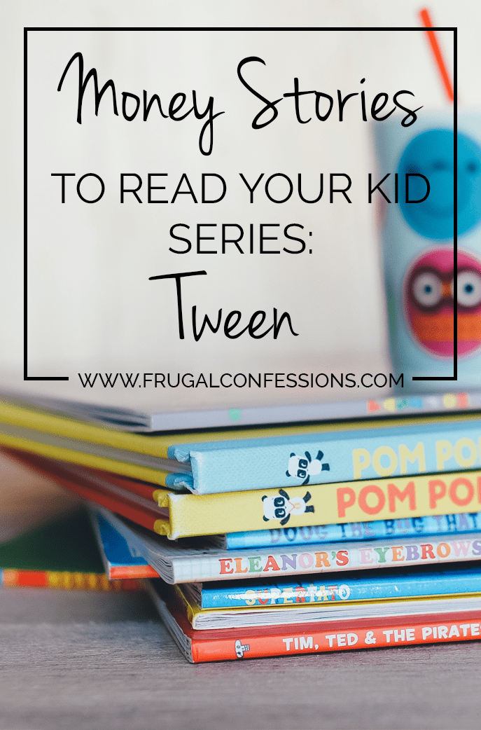 "Ever wonder how to teach your kid about money? Here's a list of books to give your tween to learn about money. Plus did you know the President has an advisory council on what your child should know by what age to be ""Financially Smart""? Check it out! 