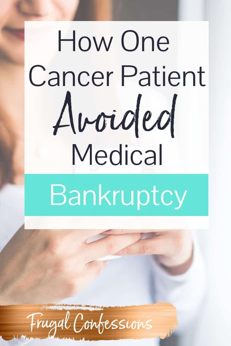 Cancer bankruptcy, even with affordable health insurance, is a real thing. Learn about one woman's story about both surviving cancer + surviving cancer without having to declare bankruptcy. You'll also learn about loan forgiveness/assistance programs for people with cancer, and the average debt a cancer patient takes on. #cancer #breastcancer #healthcare