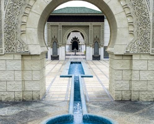 Beautiful Moroccan Pavilion in Putrajaya, Malaysia