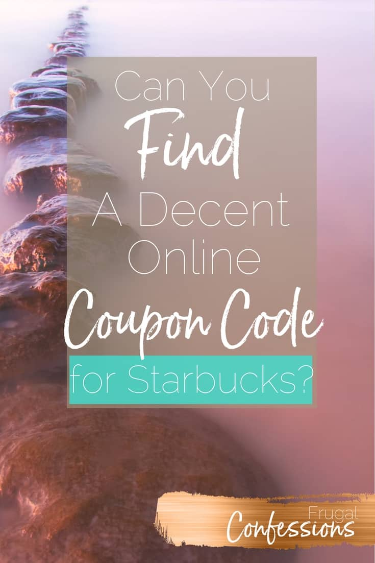 Trying to find Starbucks discounts, hacks, and DIY your morning drinks (because getting it every morning leaves a hole in your monthly cash flow)? I'll show you 4 ways I already find discounts + a new way I found that offers killer online coupon codes you won't find anywhere else. | https://www.frugalconfessions.com/save-beyond-my-means/find-starbucks-discount-via-online-promo-codes.php