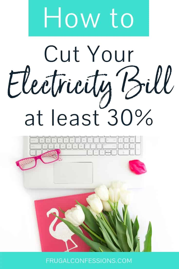 How to save money on electricity bills? What if you life in an apartment? How about in the winter, versus the summer time? I love all these electricity saving hacks, tips + tricks for how to decrease your electricity bill by at least 30%! These tips seem totally doable. #savemoney #electricitybills #bills