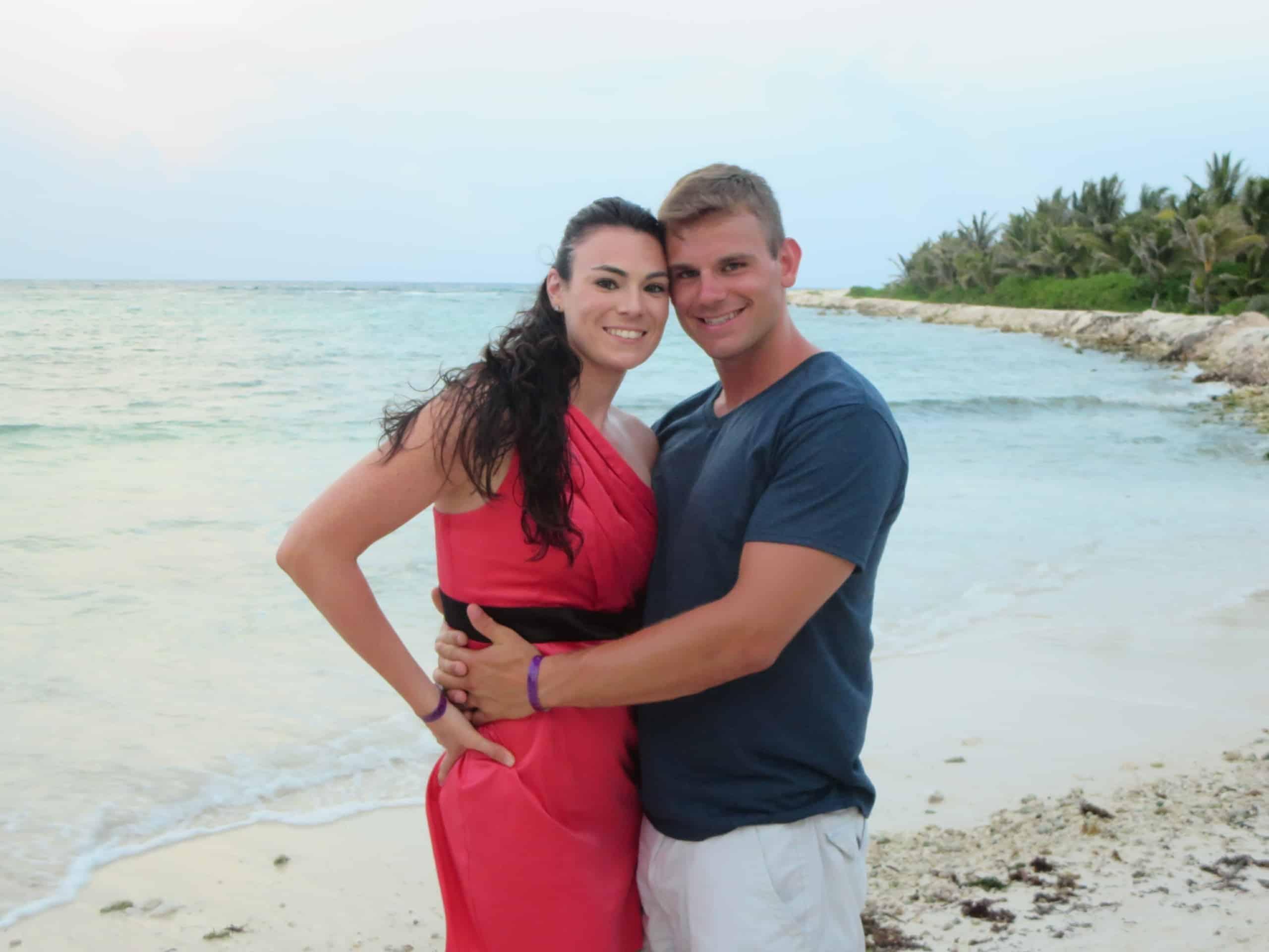 photo of Kelan Kline and wife, who teaches English online through VIPKid