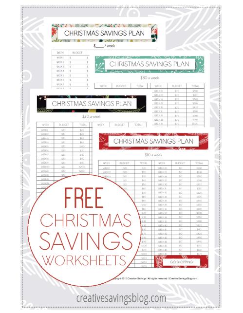 screenshot of Kalyn's 47-week Christmas savings plan