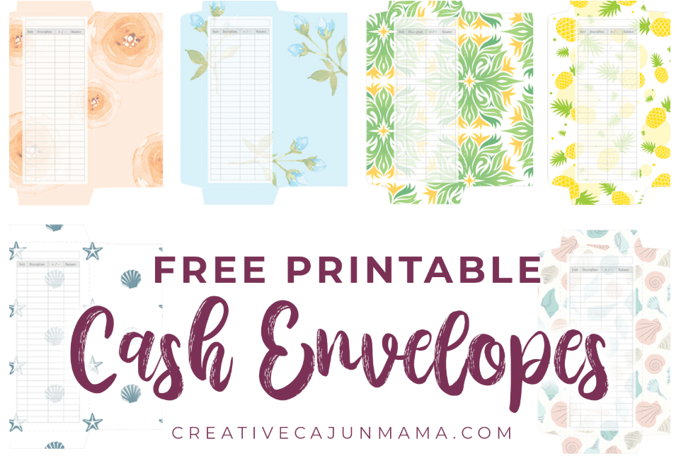six different patterns of vertical budgeting envelopes
